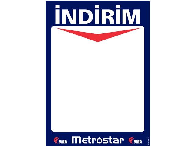 Metrostar Market Afiş Kağıdı